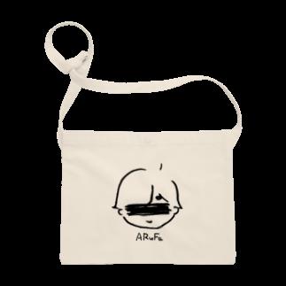 ARuFaの公式グッズ屋さんの心がほっこりする育児マンガ風デザイン Sacoches