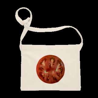 ポメ村ポメラニアンのトマト輪切り Sacoches