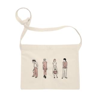 ゴンのファッションスナップ・ガール01ピンク Sacoches