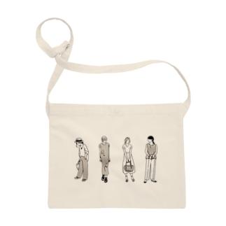 ファッションスナップ・ガール01ベージュ Sacoches