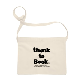 THANKS to BOOK Sacoches