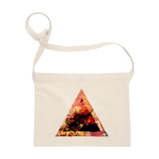 ▲3【三角形の穴】  Sacoches