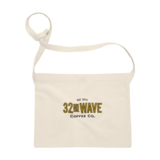 32nd Wave Coffee Co. - Gold Leaf Sacoches