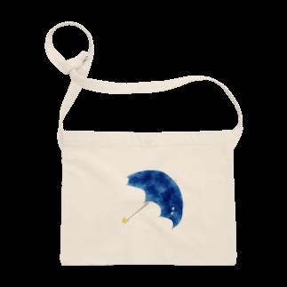 かな工房の青い傘 Sacoches