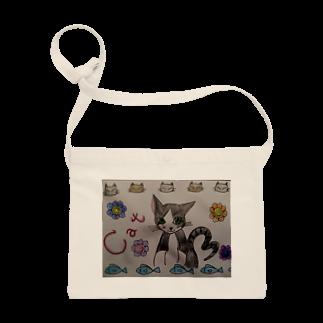 絵描きのまゆんのデザインのcatみーたんシリーズ Sacoches