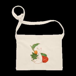 peaches-momokoの野菜うさぎちゃん Sacoches
