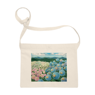 ひつじ好きの未草のギャラリーの紫陽花ひつじ Sacoches