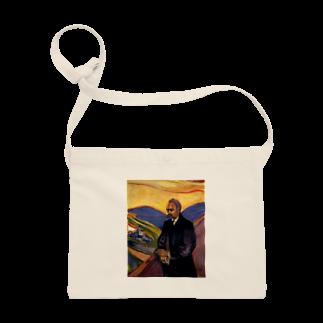 Art Baseのムンク / Friedrich Nietzsche / Edvard Munch / 1906 Sacoches