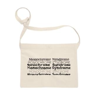 Monochrome Syndrome Sacosh Sacoches