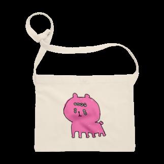へなちょこしょっぷのもんすたーくまちゃん(ピンク) Sacoches
