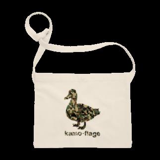 gemgemshopの鴨フラージュ Sacoches