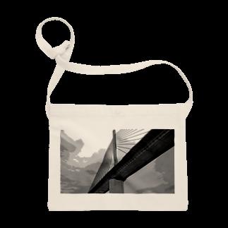 FahrenheitのBridge Black and white Sacoches