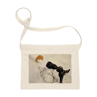 Art Baseのエゴン・シーレ / 1913 / Woman in Black Stockings / Egon Schiele Sacoches
