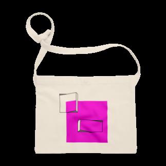 HANAMARUのピンク Sacoches