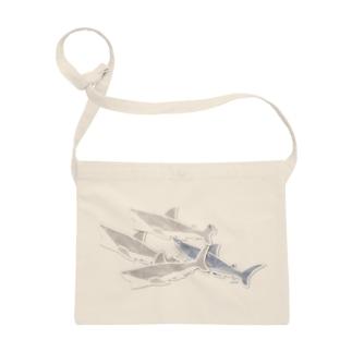 サメ の 重なるブリリアント シール Brillant SAME Seals 002 〈白地推奨〉 Sacoches