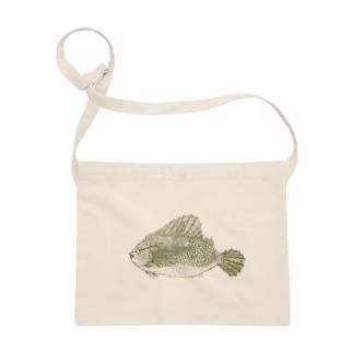 魚C(緑) Sacoches