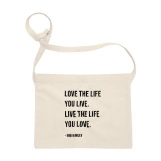 Hello BoB Marley `LOVE LIFE!!` Sacoches