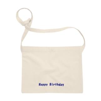 Happy Birthday グッズ Sacoches