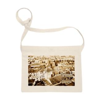 スペイン:グラナダ旧市街 Spain: Old area of Granada Sacoches