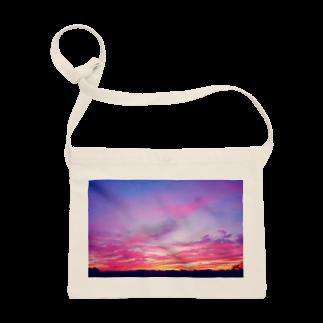 DOLUXCHIC RAYLOのPink Sunset sky Sacoches