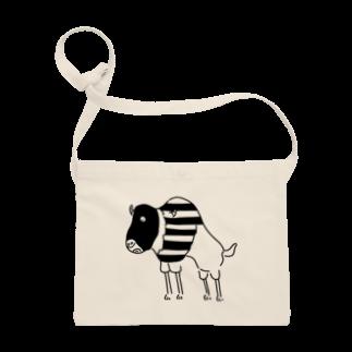 Aliviostaのスピードバッファロー 牛 動物イラスト Sacoches
