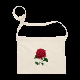 冬ノ雑貨店の一輪の薔薇 Sacoches