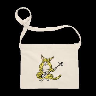 ツバメ堂の大津絵・猫に三味線 Sacoches