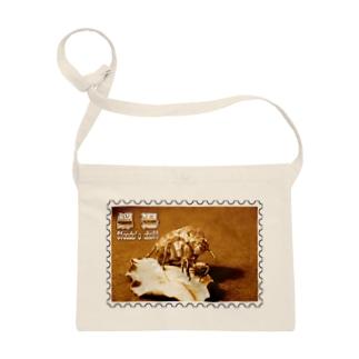 日本の昆虫:蝉退★白地の製品だけご利用ください!! Japanese insects: Cicada's shell★Recommend for white base products only !! Sacoches