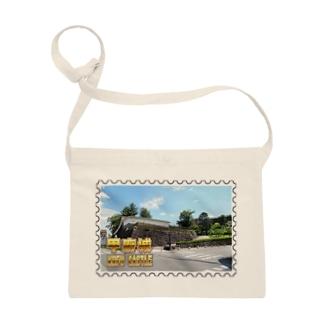日本の城:甲府城(舞鶴城)★白地の製品だけご利用ください!! Japanese castle: Kofu castle ( Maizuru castle)★Recommend for white base products only !! Sacoches