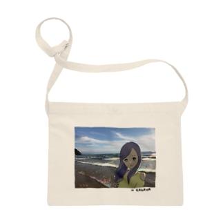 Beach Girl Photo Sacoches