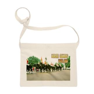 イギリス:王室騎兵(近衛騎兵) England: Horse Guards Sacoches