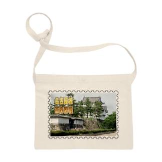日本の城:名古屋城西南隅櫓★白地の製品だけご利用ください!! Japanese castle: Southwest turret of Nagoya Castle★Recommend for white base products only !! Sacoches
