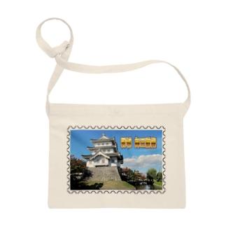 日本の城:忍城★白地の製品だけご利用ください!! Japanese castle: Oshi Castle/ Gyoda★Recommend for white base products only !! Sacoches