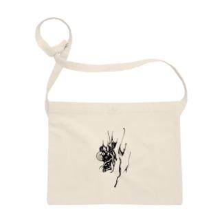 『さる沢』ロゴ Sacoches