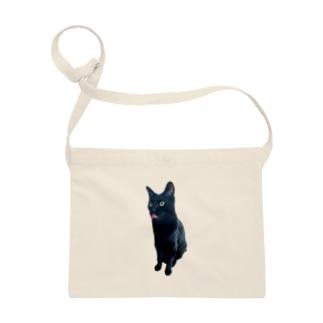 うちの猫:名前はボス、呼び方はけっけ タオルハンカチ Sacoches