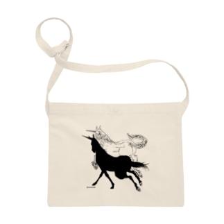 Monochrome Unicorn Sacoches