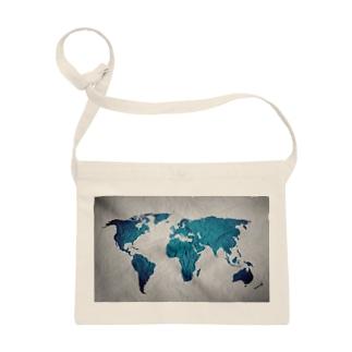 氷と水の世界地図 Sacoches