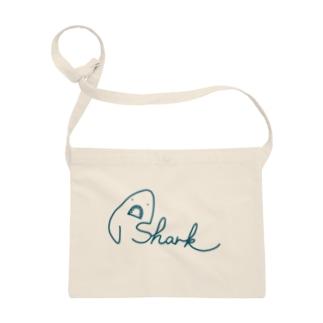 サメ文字/shark Sacoches