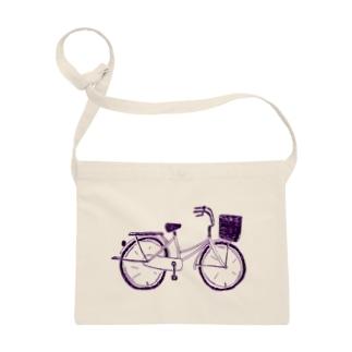 自転車デザイン「ママチャリ」 Sacoches