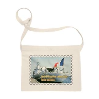 フランス海軍:ヘリ空母ジャンヌ・ダルク★白地の製品だけご利用ください!! French Navy: Jeanne d'Arc (porte-hélicoptères)★Recommend for white base products only !! Sacoches