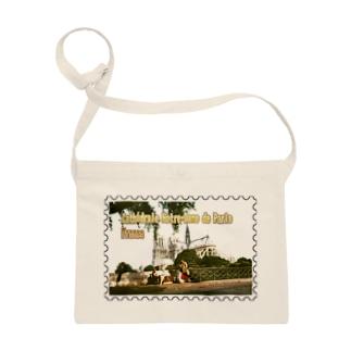 フランス:パリのノートルダム大聖堂★白地の製品だけご利用ください!! France: Cathédrale Notre-Dame de Paris★Recommend for white base products only !! Sacoches
