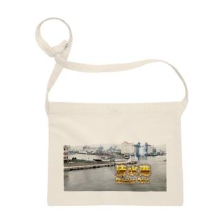 静岡県:清水港 Shizuoka: Shimizu Port Sacoches