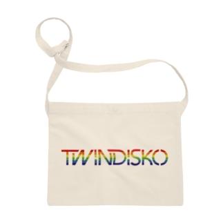 TWINDISKO RAINBOW Sacoches