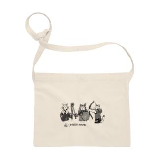 ぶち猫戦士たちの冒険布かばん Sacoches