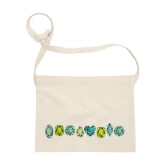 緑色の宝石 Sacoches