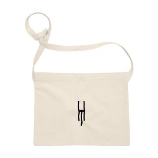 Tsubara Hayashi Official Logo 【White】 Sacoches