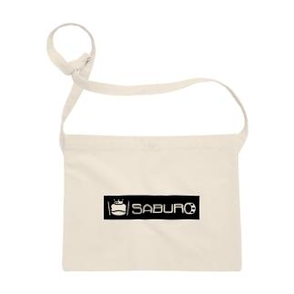SABUROのカエル ドラム ロゴ Sacoches