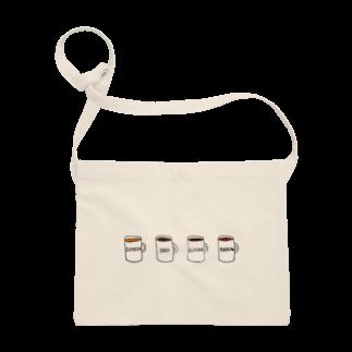 hanakumaのcoffee Sacoches