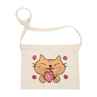 eigoyaの桜と茶トラ猫 Sacoches