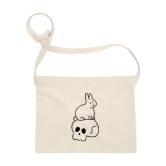 skull & bunny Sacoches